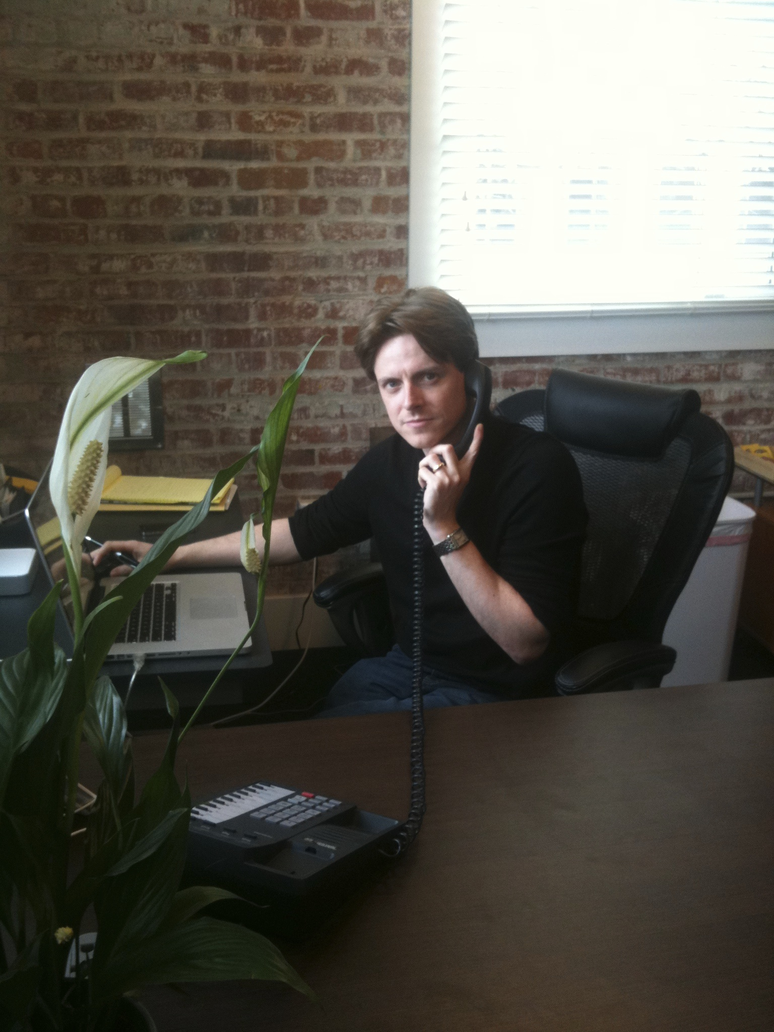 James Taylor in office